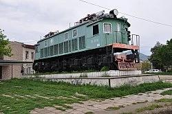 First soviet electric locomotive VL19-01 (Monument)