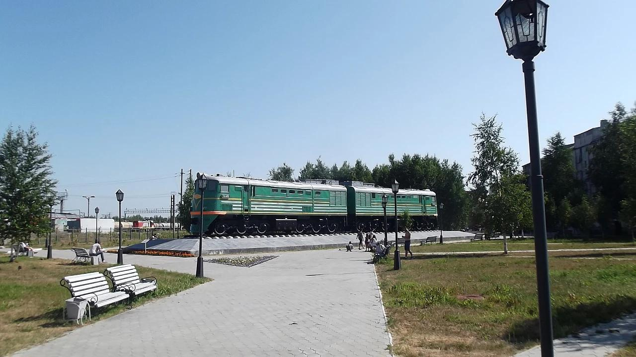 TE3-1072 Diesel Locomotive (Momument)
